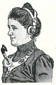 old fashioned headset