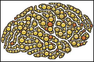 emoji brain cells
