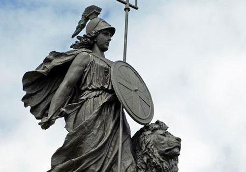 statue of britannia